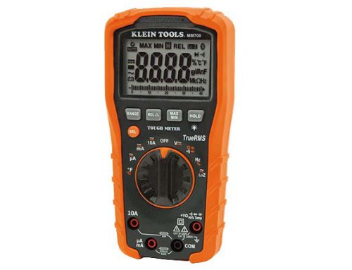 Load cell test with multimeter